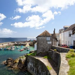 Coverack Harbour View