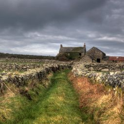 Derelict farm - West Cornwall Moors