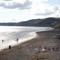 Summer's evening - Downderry beach