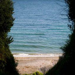Downderry beach glimpse