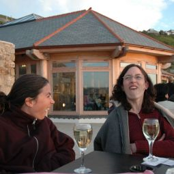 The Ladies Enjoying a Glass or Two