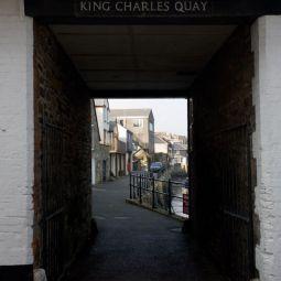 King Charles Quay Entrance - Falmouth