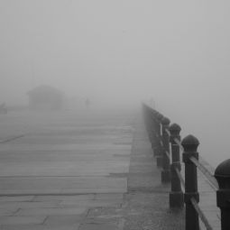 Foggy Day - Penzance Promenade