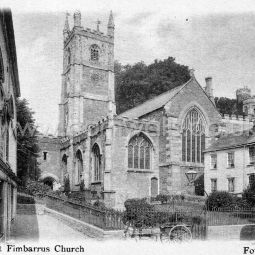 Fowey Church - 1900s