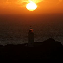 Godrevy Lighthouse Sunset - Hayle