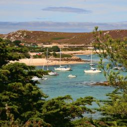 Yachts at Green Bay, Bryher