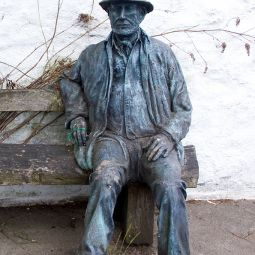 Gunislake Miner Statue
