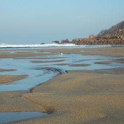 Low Tide Gwynver Beach
