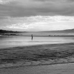 Gwithian Beach on a Cloudy Day