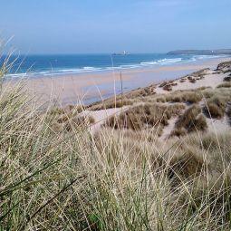 Hayle Towans Beach View
