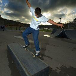 Helston Skatepark , new