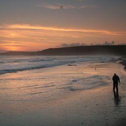 Praa Sands Sunset Solitude