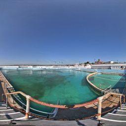 Jubilee Pool - Penzance. Panorama