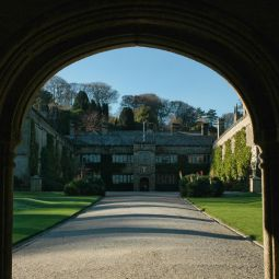 Lanhydrock House through Archway
