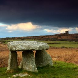 Black Sky over Lanyon Quoit