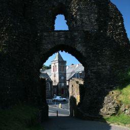 Launceston Castle - North Gate