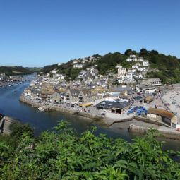 Looe River and Beach View