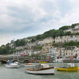 Looe Harbour and Bridge
