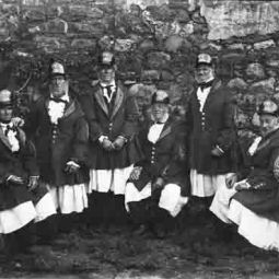 Lord St Levan's Boatmen - 19th Century