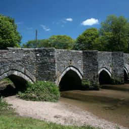 Lostwithiel - Bridge over River Fowey
