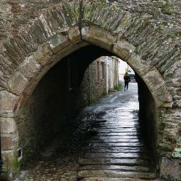 Lostwithiel medieval passageway
