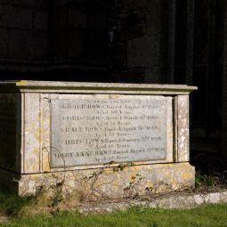 Rows Family Tomb - Ludgvan