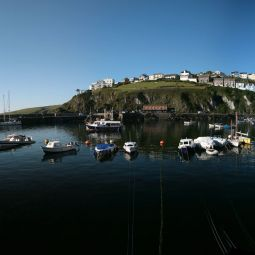 Polkirt Hill from Mevagissey Harbour