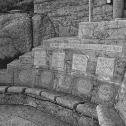Seats in the Minack Theatre