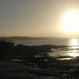 Early Morning Sun - Marazion