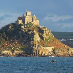 St Michael's Mount from Penzance