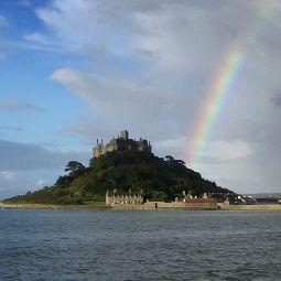 St Michael's Mount Rainbow
