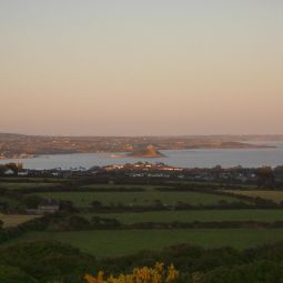 Mounts bay from Madron Carn