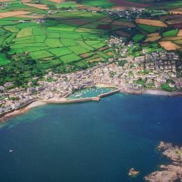 Mousehole from the air
