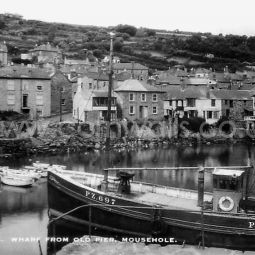 Mousehole Harbour - 1920s
