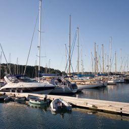 Mylor yacht marina