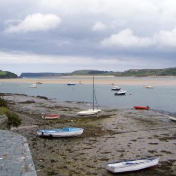 View Across Camel Estuary - Padstow to Rock