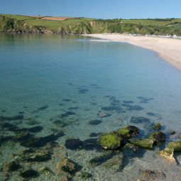 Clear Water at Pentewan Beach