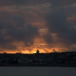 Firey Sky over Penzance