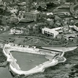 Penzance Aerial Photo - 1950s
