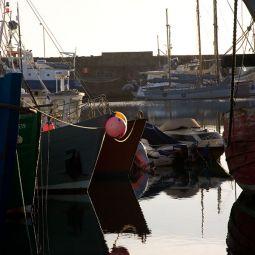 Penzance Harbour - Winter Morning