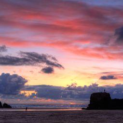 Perranporth Beach Sky