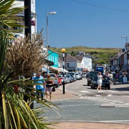 Perranporth town centre