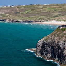 Perranporth YHA and beach