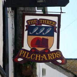 Polperro Pub Sign