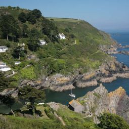 Polperro Harbour Mouth