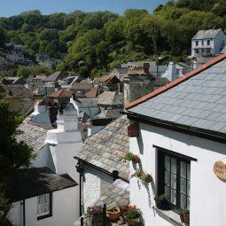 Polperro Rooftops