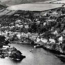 Polperro - 1950s Aerial View