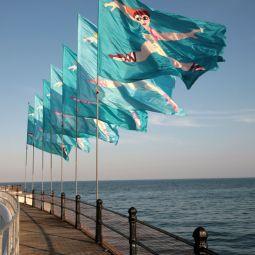 Jubilee Pool Flags