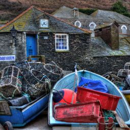 Port Isaac fishing scene