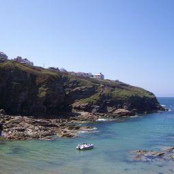 Cliffs at Port Gaverne